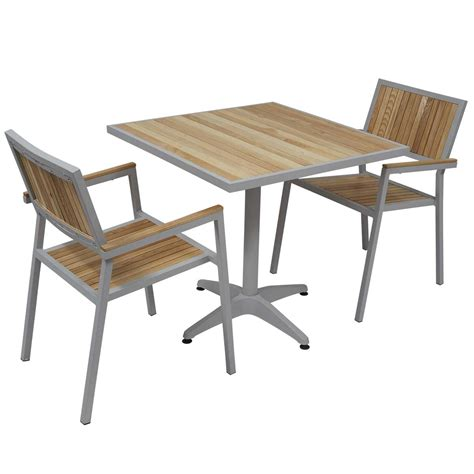 table chaises awesome table de jardin aluminium et chaise images