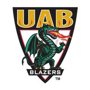 UAB Blazer Logo Iron On