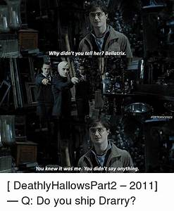 Why Didn't ... Drarry Memes
