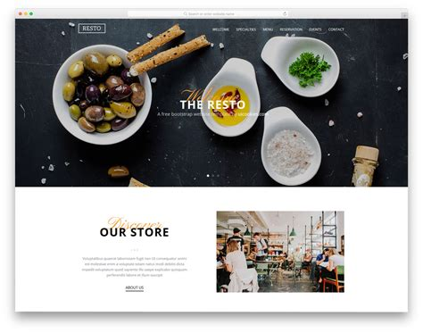 Free Simple Website Templates 25 Best Free Simple Website Templates For All