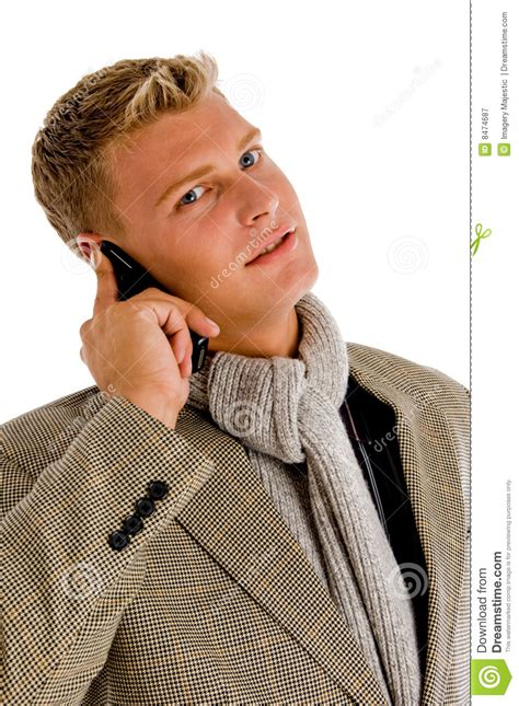 professional person busy  phone call royalty  stock