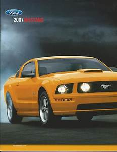 Sell 2007 07 Ford Mustang Brochure Gt 500 Shelby