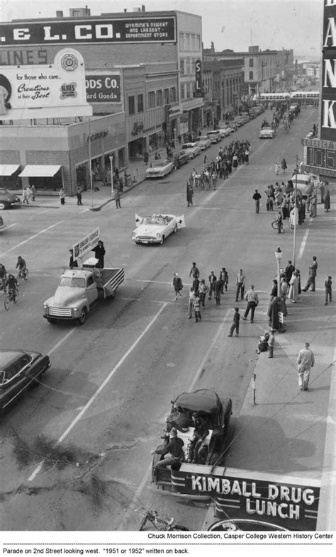1951-1952 - Parade on 2nd St | Downtown Development