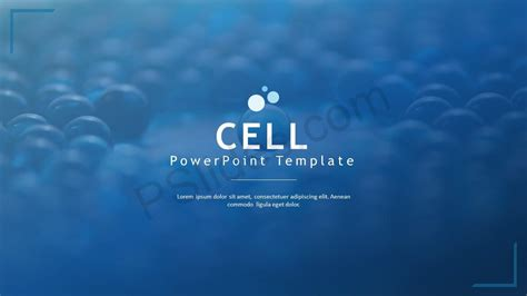 cell powerpoint template pslides