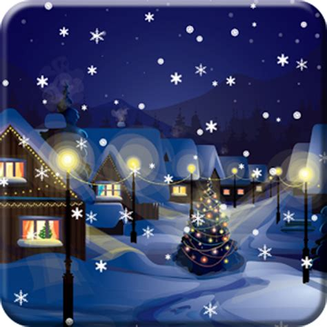 Animated Snow Desktop Wallpaper 1 2 0 - snow city live wallpaper 1 2 5 apk androidappsapk co