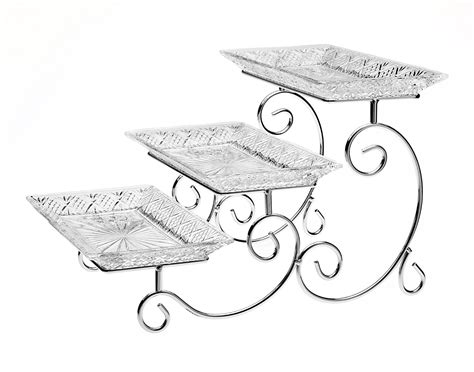 dessert tray silver serving trays and platters