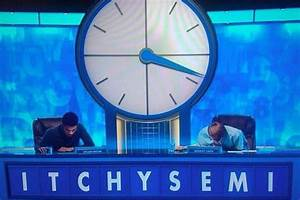 Letters Of Complain Countdown Rude Words See Hilarious Countdown Conundrum