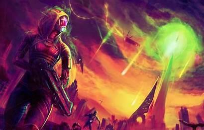 Fan Zora Mass Effect Normandy Drill Geth