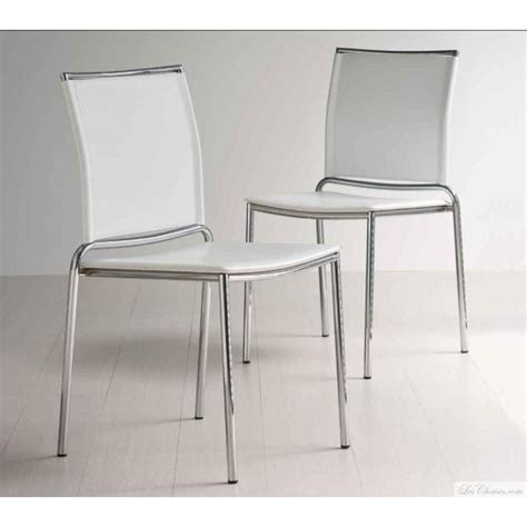 fly chaise de cuisine chaise blanche moderne fly et chaises moderne midj