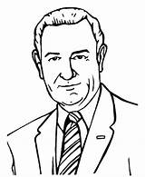 Johnson Lyndon Coloring Presidents Pages President Printables Usa Go States United 36th Texas Print sketch template