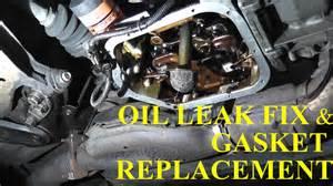 1998 honda civic gasket pan gasket replacement with basic tools