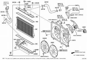 2010 Toyota Highlander Engine Cooling Fan Shroud  Housing Or Panels That Surround The Cooling