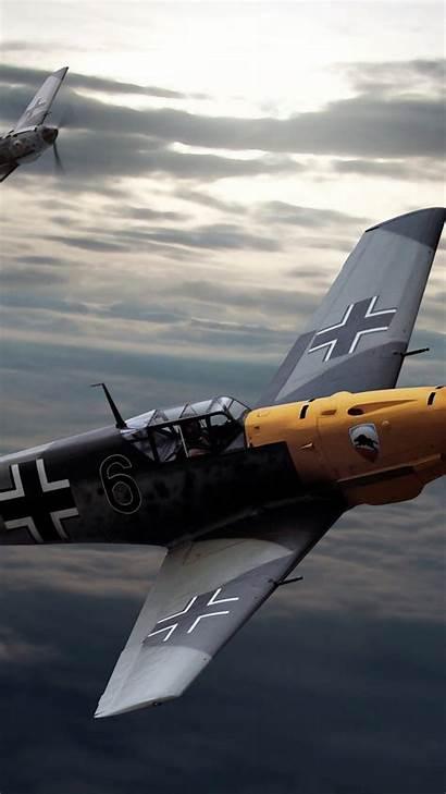 Aircraft German Fighter War 109 Bf Messerschmitt