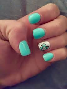 Best ideas about vacation nails on summer