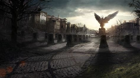 Wallpaper Graveyard by Hd Wallpaper 1440x900 5845