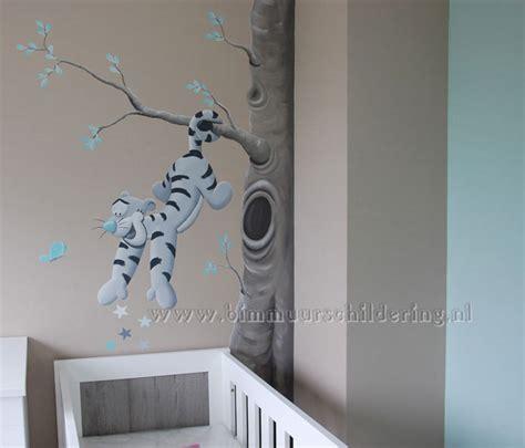 gordijnen kinderkamer winnie the pooh tijgertje teigetje muurschildering winnie the pooh babykamer