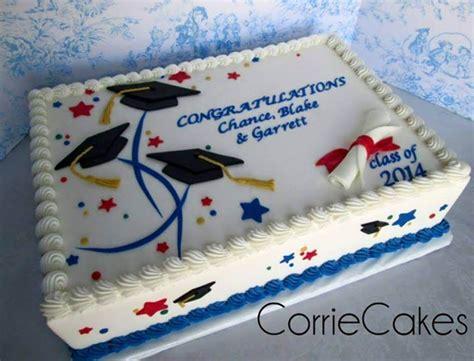 graduation cake  corriecakes cakes sheet cakes