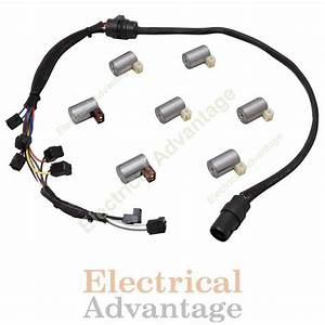 Transmission Master Solenoid Kit Set W   Wire Harness Vw