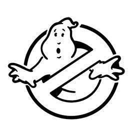 ghostbusters logo stencil  stencil gallery