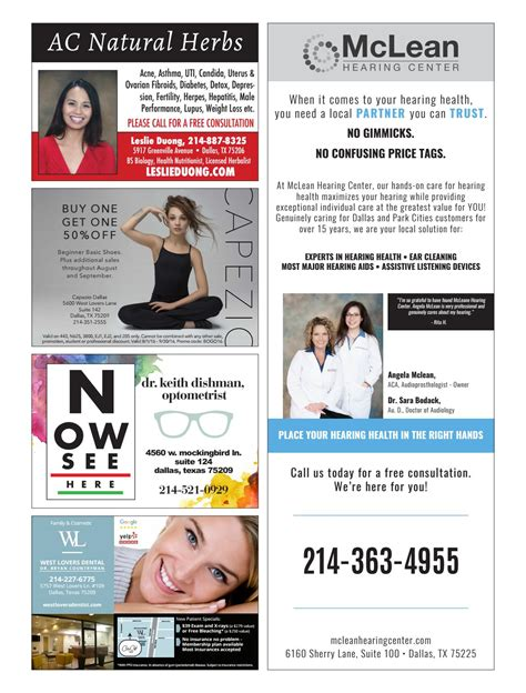 Preston Hollow People August 2016 by People Newspapers
