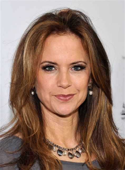 actress kelly preston kelly preston pictures 2013 g day usa los angeles black