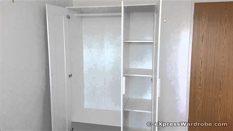 Ikea Brimnes 3 Door Wardrobe Design Youtube
