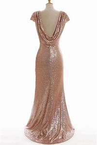 long gold bridesmaid dresses picture more detailed With robe rose gold