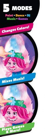 dreamworks trolls world  color poppin poppy