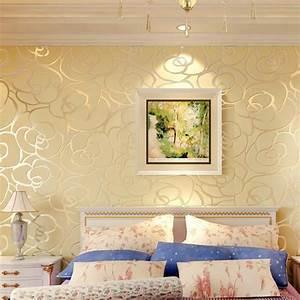 beibehang home decor Background wall Modern wallpaper gold ...