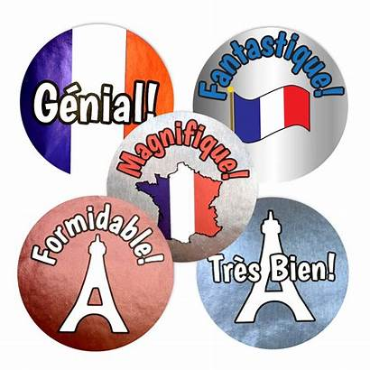 Praise French Foil Stickers Metallic Superstickers Sticker