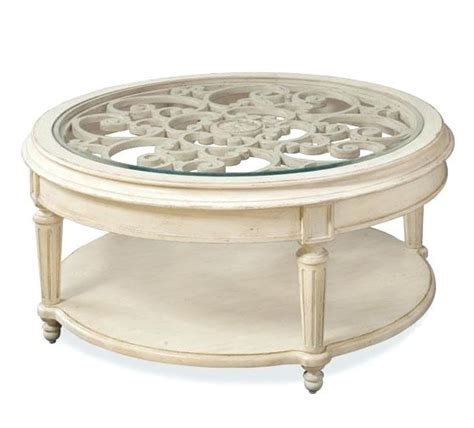 Modern coffee tables are of many different types, with various shapes and can be made of a variety of materials so let's pick something specific to focus on: 8 Cottage Style Round Coffee Tables Pics