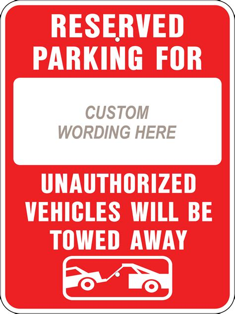Reserved Parking Signs Template by Printable Reserved Signs Downloadtarget