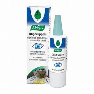 Droge ogen met lenzen