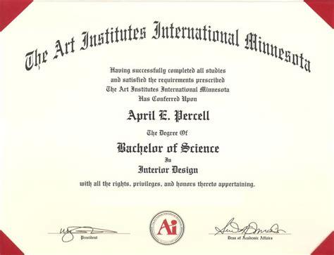 Art Institute Degree Diploma