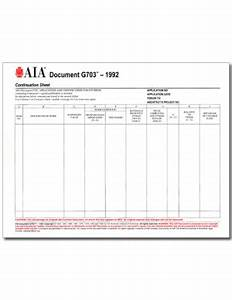 aia form g703 pack of 50 With aia document g702 1992