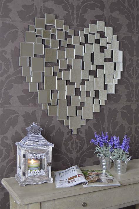 heart wall mirror mirror ideas