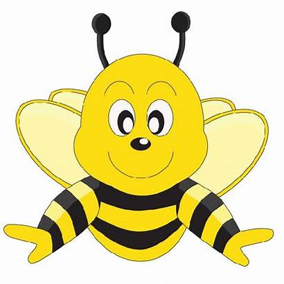 Clipart Bee Bumble Printable Template Bumblebee Insect