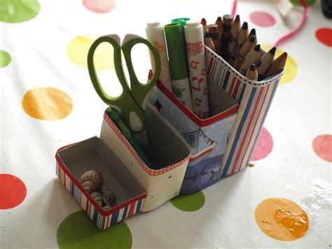 cereal box pencil pots here come the 836 | P80476555