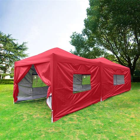 quictent  feet screen curtain ez pop  canopy party tent gazebo  colors ebay