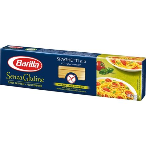 barilla spaghetti sans gluten 400gr mitentatuttomitentatutto