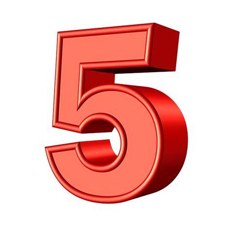 Five 5 Number · Free image on Pixabay