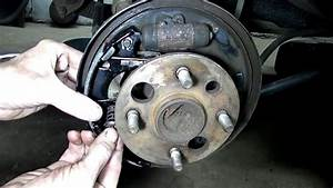 Toyota Corolla Chevrolet Prizm Rear Brake Job Part 2
