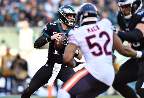 carson wentz bears defense fantasy football
