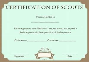 scout certificates template12 free printables in word With cub scout certificate templates