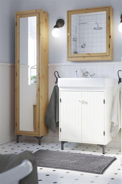 maximize storage   bathroom   ikea silveran