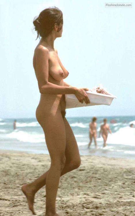 Slim wife big natural tits and hairy cunt Nude Beach Pics, Public Nudity Pics, Voyeur Pics