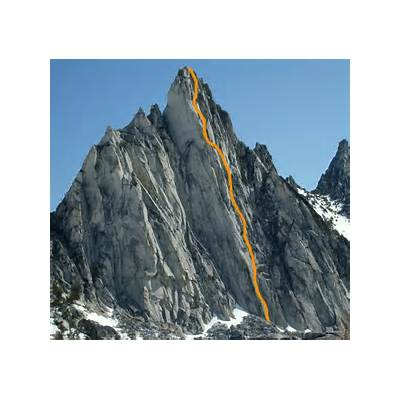 Prusik Peak - South Face Climb