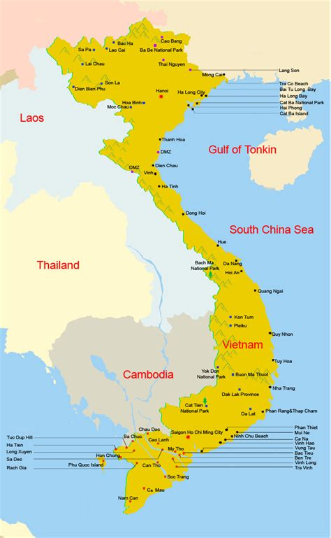 vietnam map travel maps  map route map provincial maps