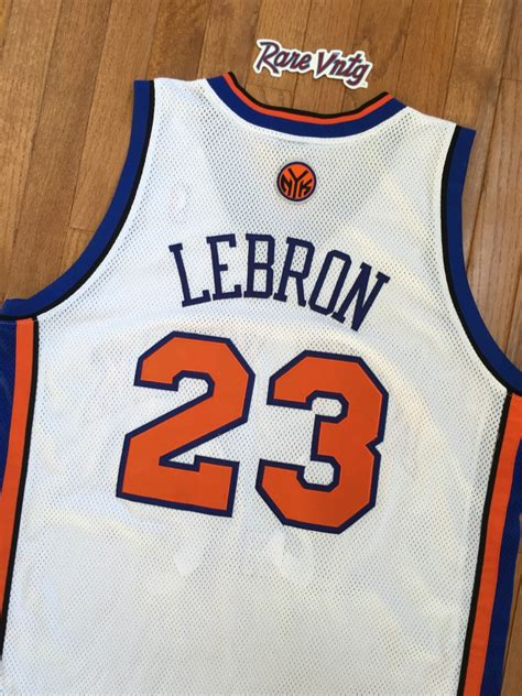 lebron james  york knicks nba jersey size