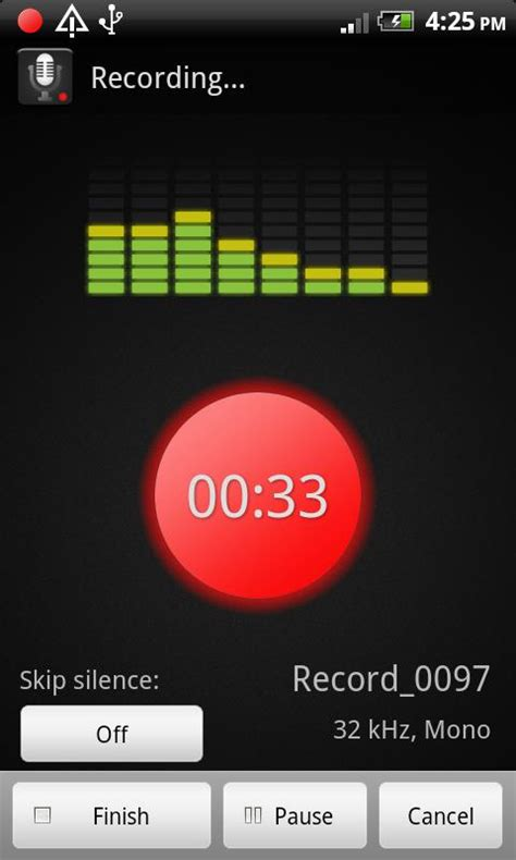 smart voice recorder android apps on play